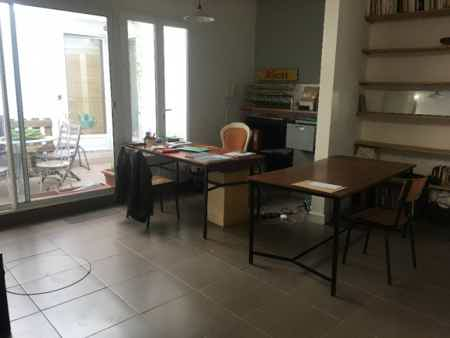 Bureaux open space dans maison-4