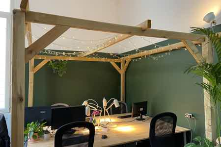 Open Space fixe coworking Montpellier