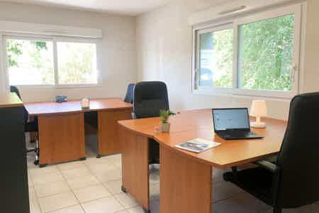Bureaux privé de 17,5 m²