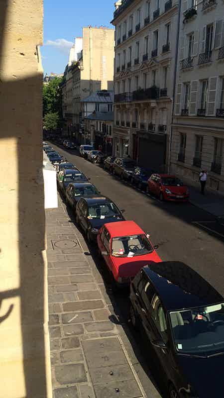 Vue Rue  Meslay